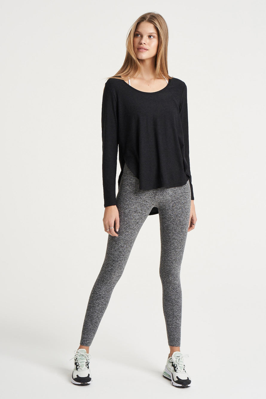 Cut And Run Pullover by Beyond Yoga in Darkest Night 2