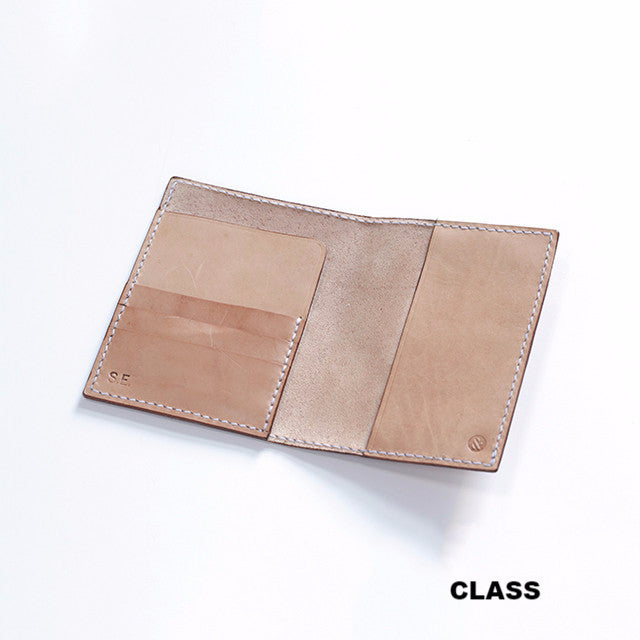 Passport Wallet class PRIVATE - Hand and Sew - 1