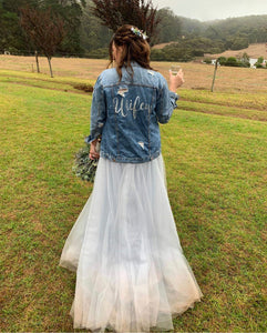 Custom Made Bridal Skirt