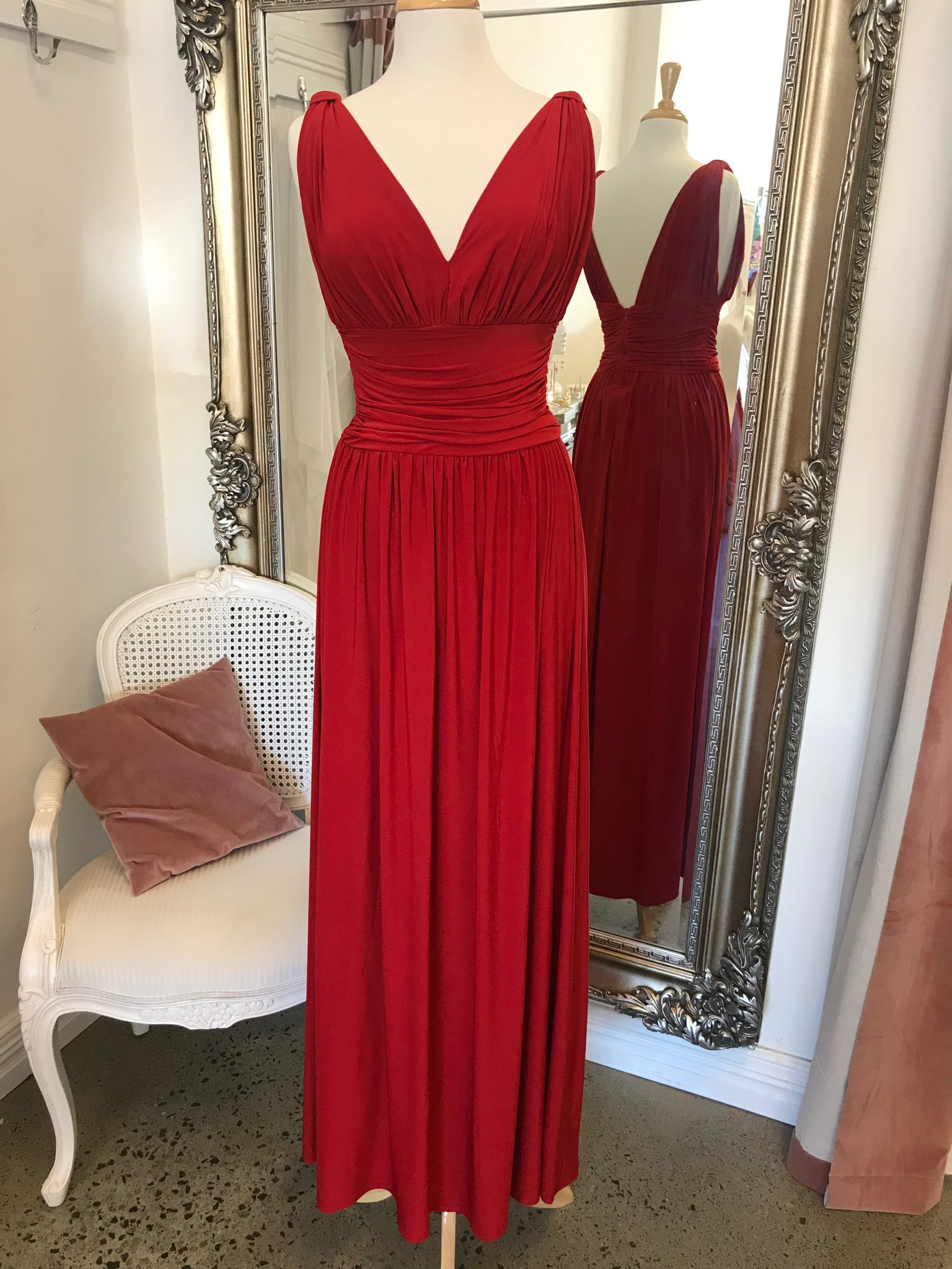 Peggy Thick Strap Gown
