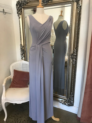 Sinead Drape V Neck Dress