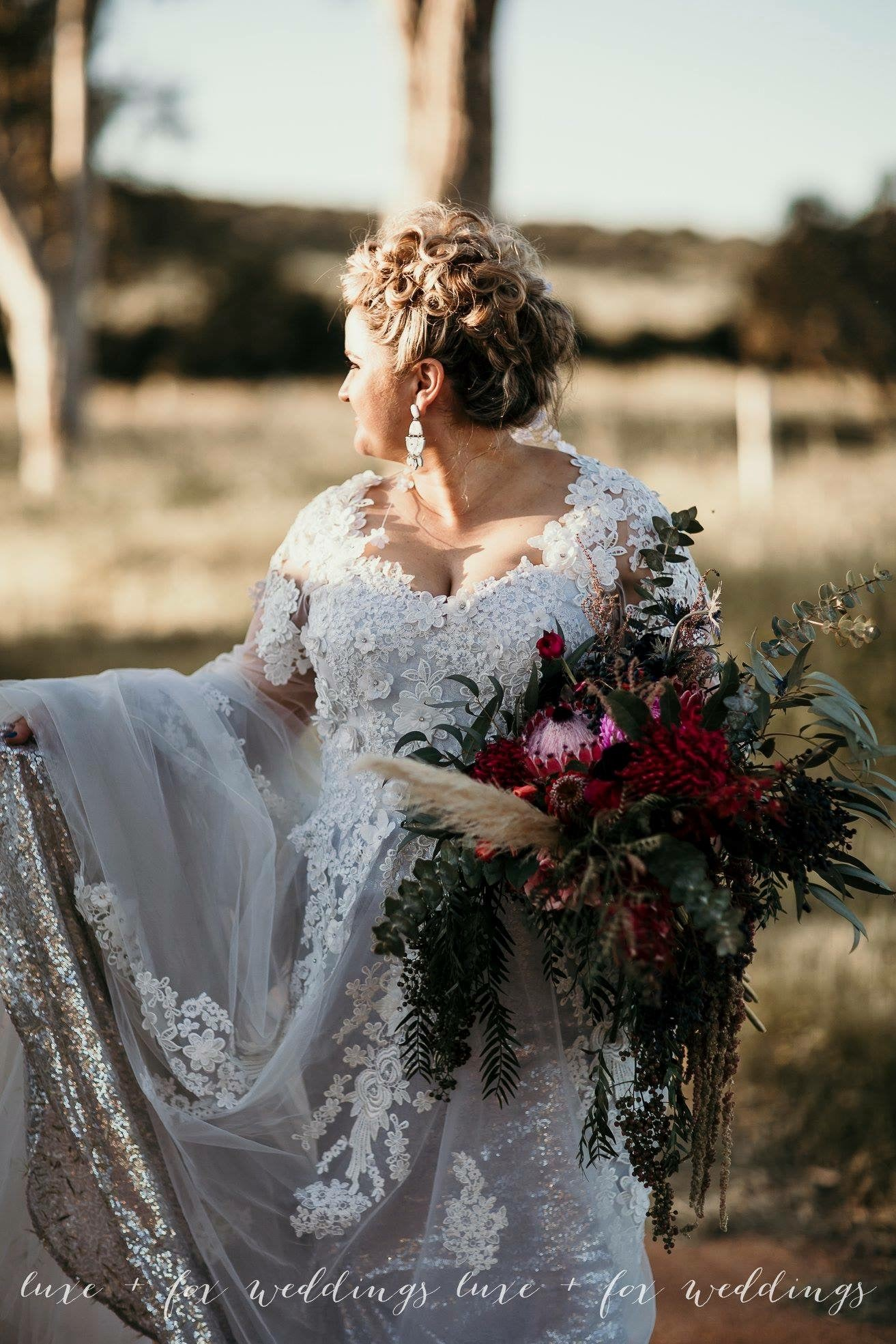 Full Tulle Custom Made Bridal Gown