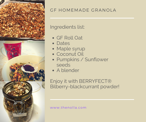 My favourite everyday breakfast - GF Granola