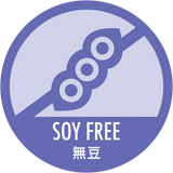 Soy Free 無豆