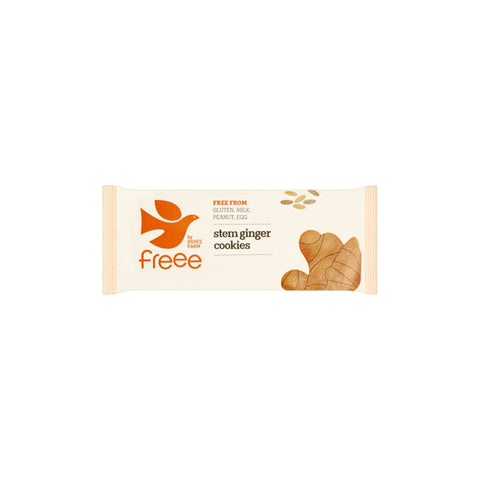 Gluten Free Organic Stem Ginger Cookies - THE NOLLA ASIA LIMITED