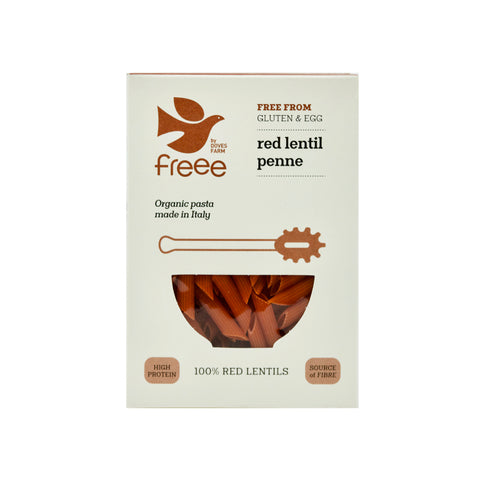 Gluten Free High Protein Red Lentil Penne - THE NOLLA ASIA LIMITED