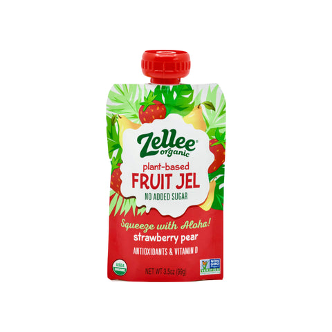 Organic Strawberry Pear Plant-based Fruit Jel - THE NOLLA ASIA LIMITED