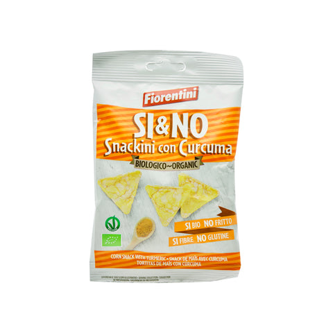 Organic Corn Chips with Turmeric - THE NOLLA ASIA LIMITED