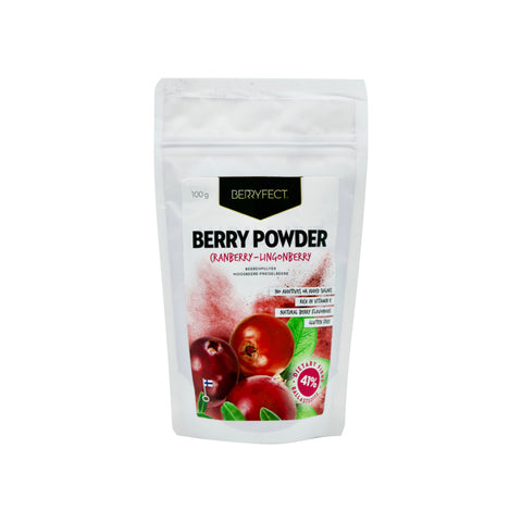 Wild Cranberry-Lingonberry Powder - THE NOLLA ASIA LIMITED