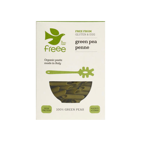 Gluten Free Green Pea Penne - THE NOLLA ASIA LIMITED