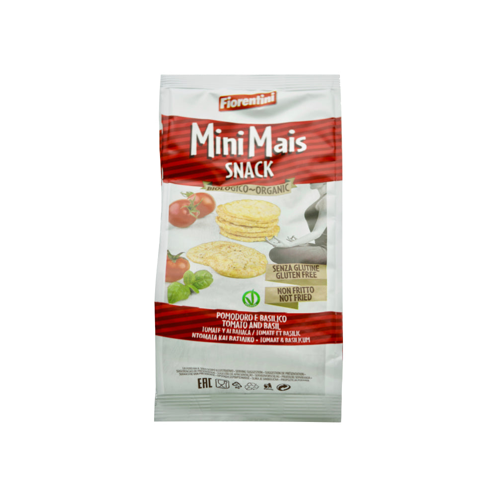 Gluten Free Mini Corn Chips with Tomato & Basil - THE NOLLA ASIA LIMITED