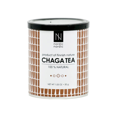 100% Natural Chaga Tea - THE NOLLA ASIA LIMITED