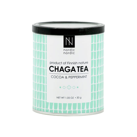 Cocoa & Peppermint Chaga Tea - THE NOLLA ASIA LIMITED