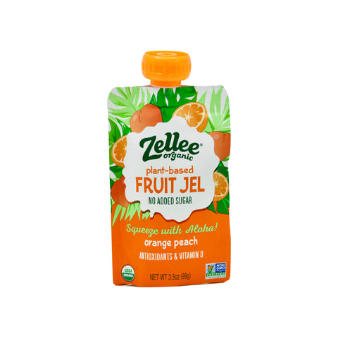 Organic Orange Peach  Plant-based Fruit Jel - THE NOLLA ASIA LIMITED