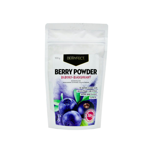 Wild Bilberry-Blackcurrant Powder - THE NOLLA ASIA LIMITED