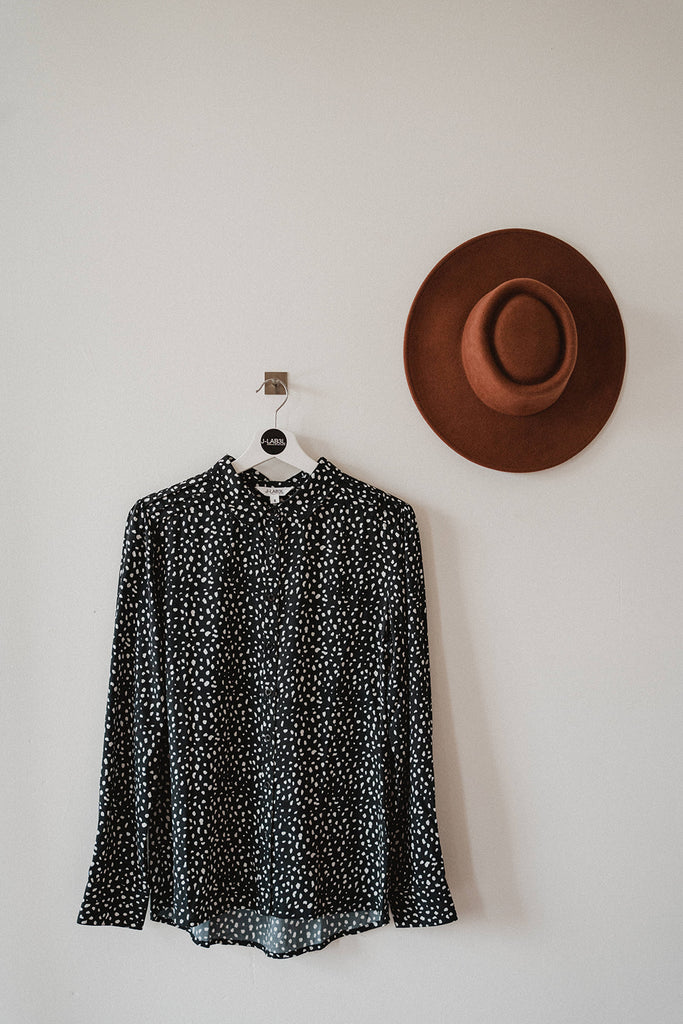 BLOUSE MAYA ANIMAL DOT