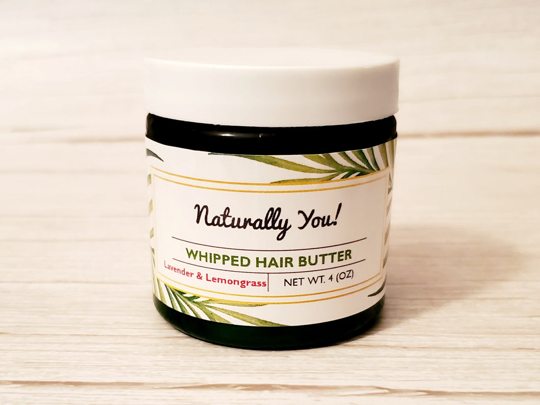 Herb Infused Whipped Hair Butter