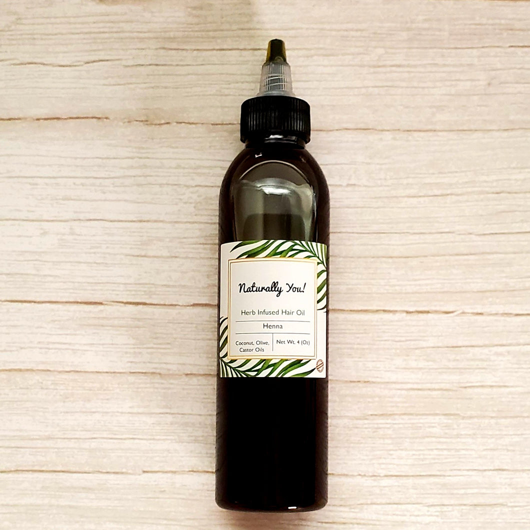 Henna Herb Infused Hair Oil