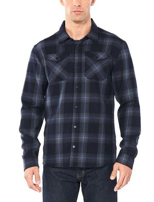 Men's Lodge Long-Sleeve Flannel Shirt