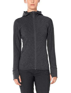 Women's Descender Long-Sleeve Zip Hooded Sweater