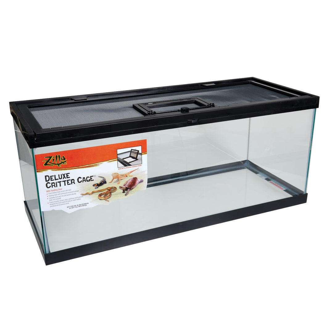 Zilla Deluxe Critter Cage w Feeding Door - In Store Only