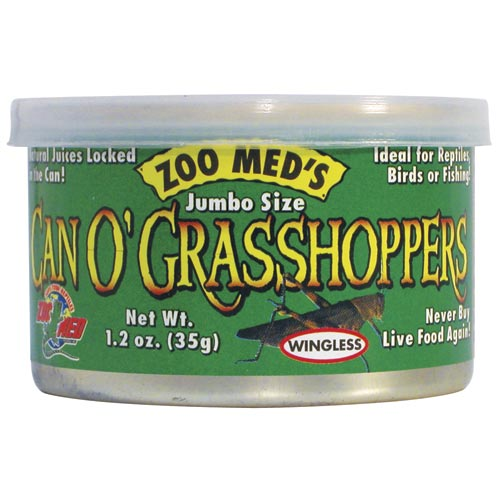 Zoo Med Can O' Grasshopper - Jumbo - 1.2 oz
