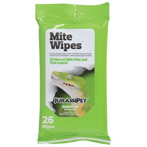 JurassiPet Mite Wipes - 26 ct
