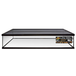 Low Boy Breeder Flat Terrarium with Aluminum Screen Top- 50 gal In Store Pick Up Only