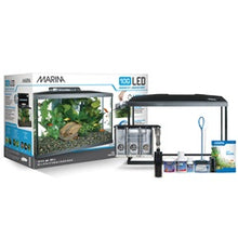 Load image into Gallery viewer, Marina LED Glass Aquarium Kit