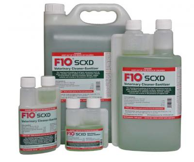 F10SCXD Veterinary Cleaner-Sanitizer