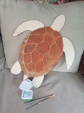 Load image into Gallery viewer, Jekyll Turtle DIY Paint Kit w/custom vinyl saying!
