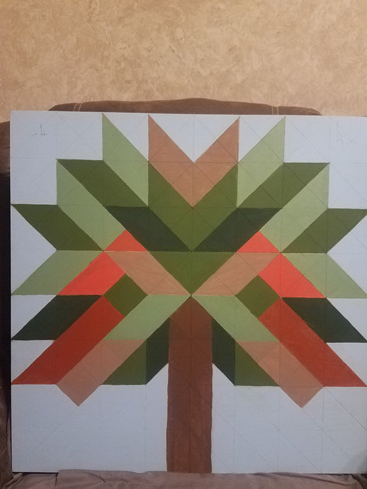 Tree Of LIFE DIY paint Barn Quilt