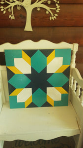 """Renewal"" Barn Quilt DIY Paint"