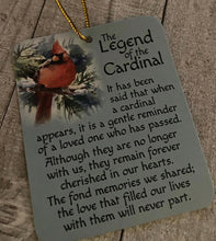 Load image into Gallery viewer, Legend of the Cardinal Ornament