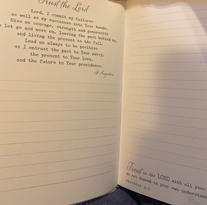 Prayer Journal For Women - Be Still