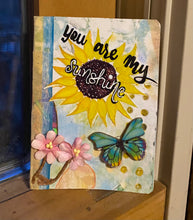 Load image into Gallery viewer, The Way Back To You 4 Week Mixed Media Art Journal Class with Tricia Andreassen