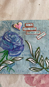 The Way Back To You 4 Week Mixed Media Art Journal Class with Tricia Andreassen