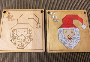 Barn Quilt DIY Ornaments