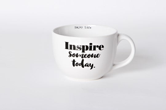 Inspire someone today. - Stoneware, 24oz Mug