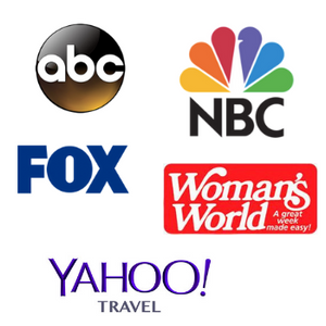 Fox, ABC, NBC, Woman's World, Yahoo Travel