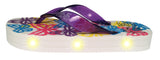 FLIK FLOPS Light Up Flip Flops for Girls-Butterfly