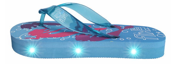 FLIK FLOPS Light Up Flip Flops for Girls-Mermaids