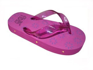 Pink Light Up Flip Flops