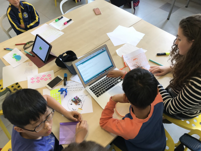 Summer Coding Camp at Stockholm International School