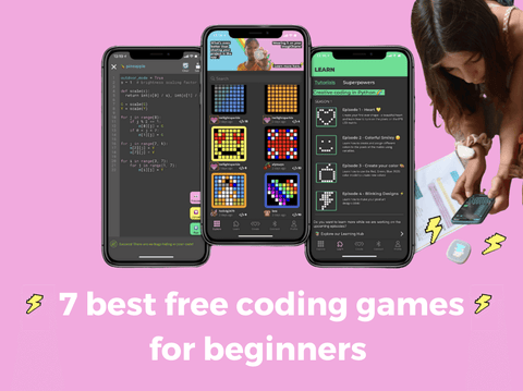 best, free, coding, games, beginners, coding for beginners, coding games