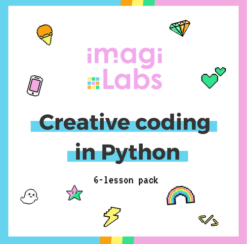 Creative Coding in Python - 6 Lessons 🌟