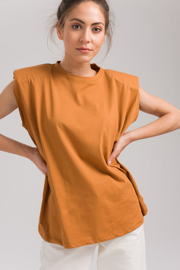Mustard Lucy Basic Blouse