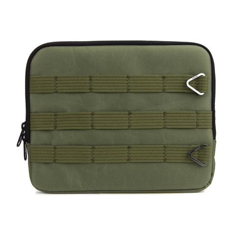 Army Green Nylon Tablet Case