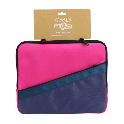 Color Block Nylon Tablet Case