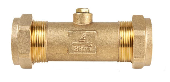 28mm DZR Double Check Valve